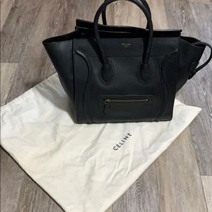 Black Celine Purse
